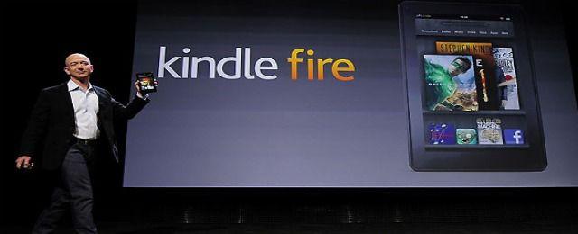 """Amazon presenta su tableta """"low cost"""" a 146€"""