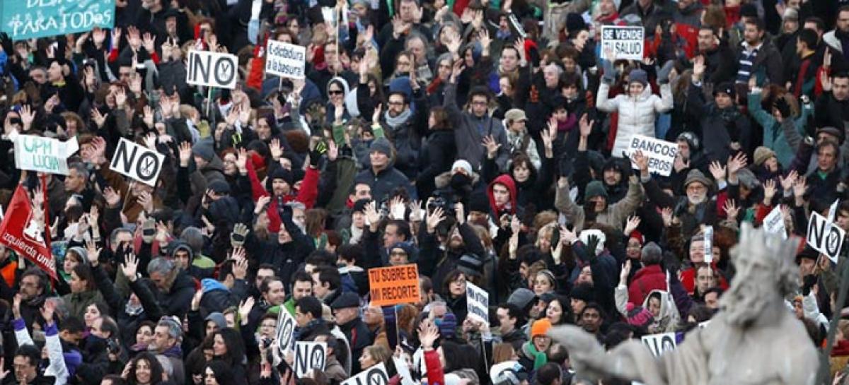 """La realidad griega y el""""genocidio financiero"""""""