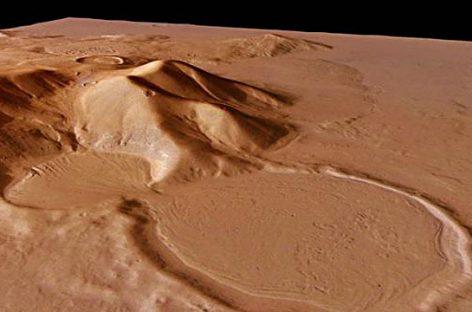 Signos de presencia de agua en Marte