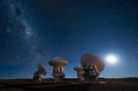El telescopio ALMA comienza a explorar el universo