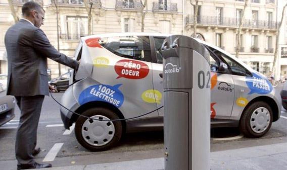 Se lanza el primer alquiler urbano de coches eléctricos
