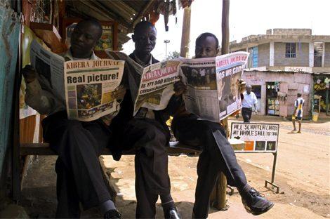 Fundan un periódico en uno de los barrios más violentos de África