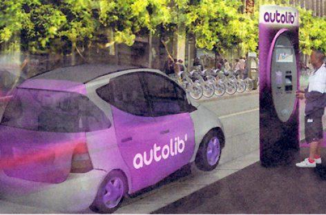 París alquila coches electricos