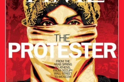 Manifestante indignado, personaje del año