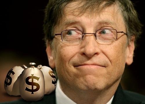 Hay que ayudar más → bill gates money dinero Bill Gates