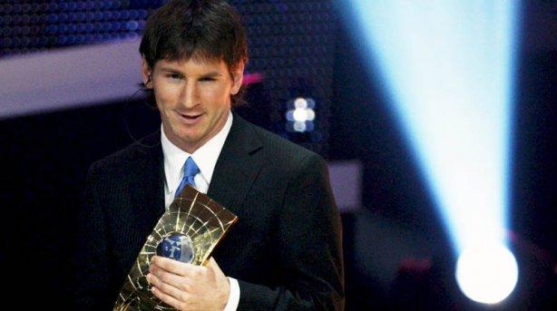 Messi, por tercera vez, mejor futbolista del mundo