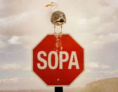 No al SOPA - Protestas internet censura
