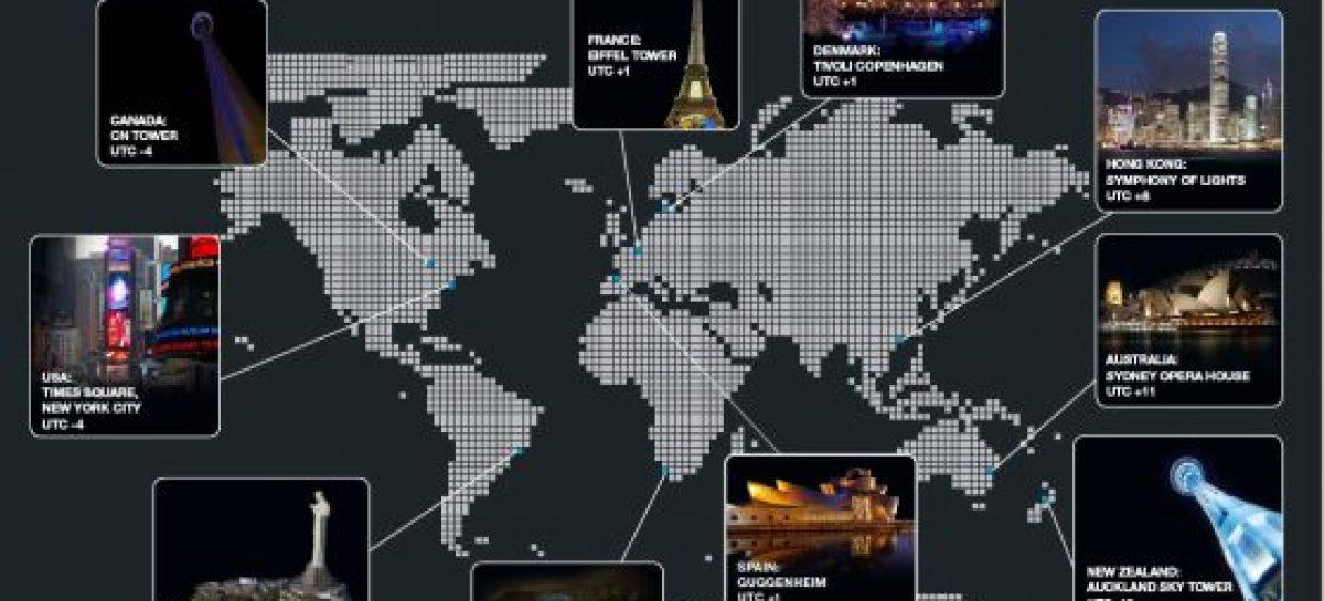 Apagón mundial 2012 para salvar el planeta