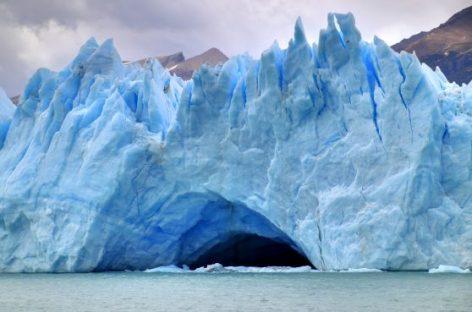 El espectáculo del glaciar Perito Moreno