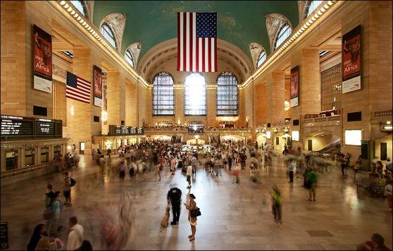 El atractivo de las grandes estaciones de trenes