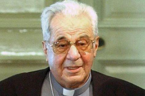 Un obispo que dio ejemplo de voto de pobreza.
