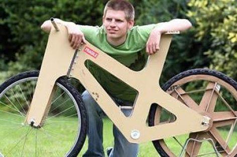 Bicicleta antirrobo y ecológica