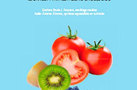 Un libro que explica los alimentos más adecuados para pacientes oncológicos
