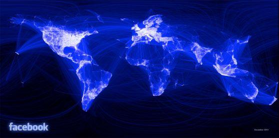 Dónde están los usuarios de Facebook