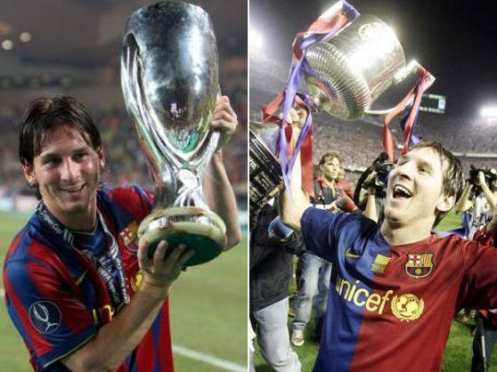 Messi con ocho años de carrera acumula 21 títulos