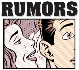 Los rumores no son noticia