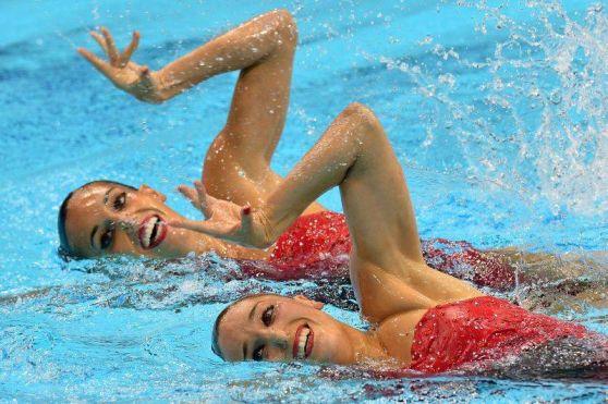 Las sirenas españolas logran la medalla de plata