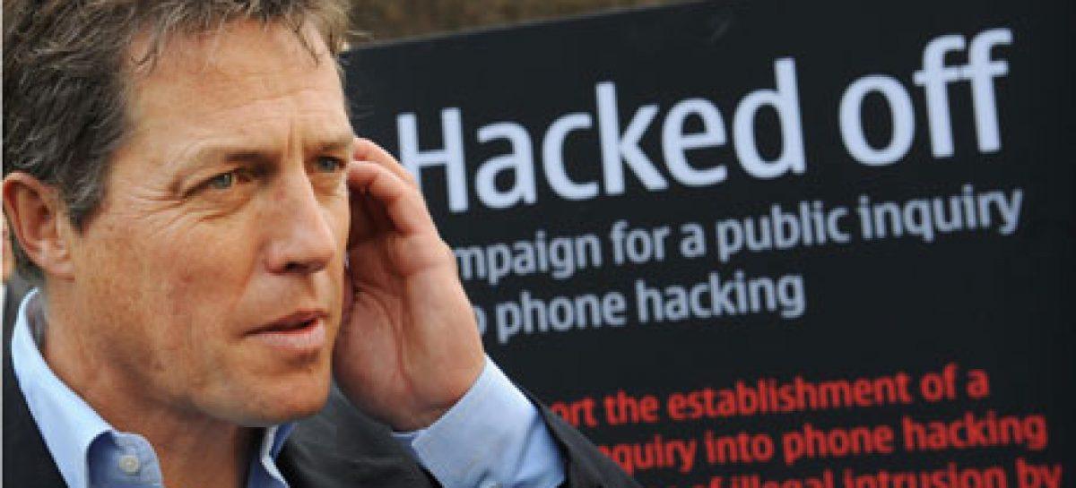 """Hugh Grant lidera campaña """"Hacked Off"""" para reformar prensa británica"""