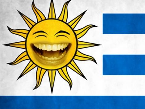 Los uruguayos, también se sienten felices