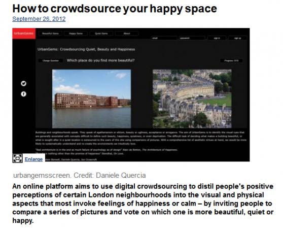 Encontrar los rincones felices de tu ciudad