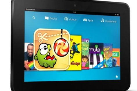 La nueva tableta de Amazon para competir con el iPad