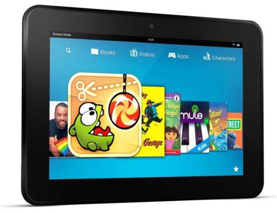 La nueva tableta de Amazon para competir con el iPad