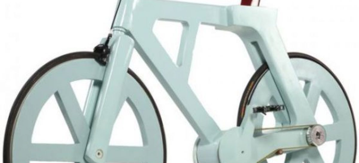 Una bici de cartón reciclada y barata