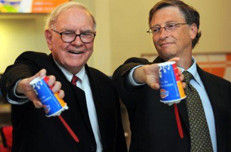 Otros 11 millonarios se unen a Bill Gates y Warren Buffett en su obra filantrópica