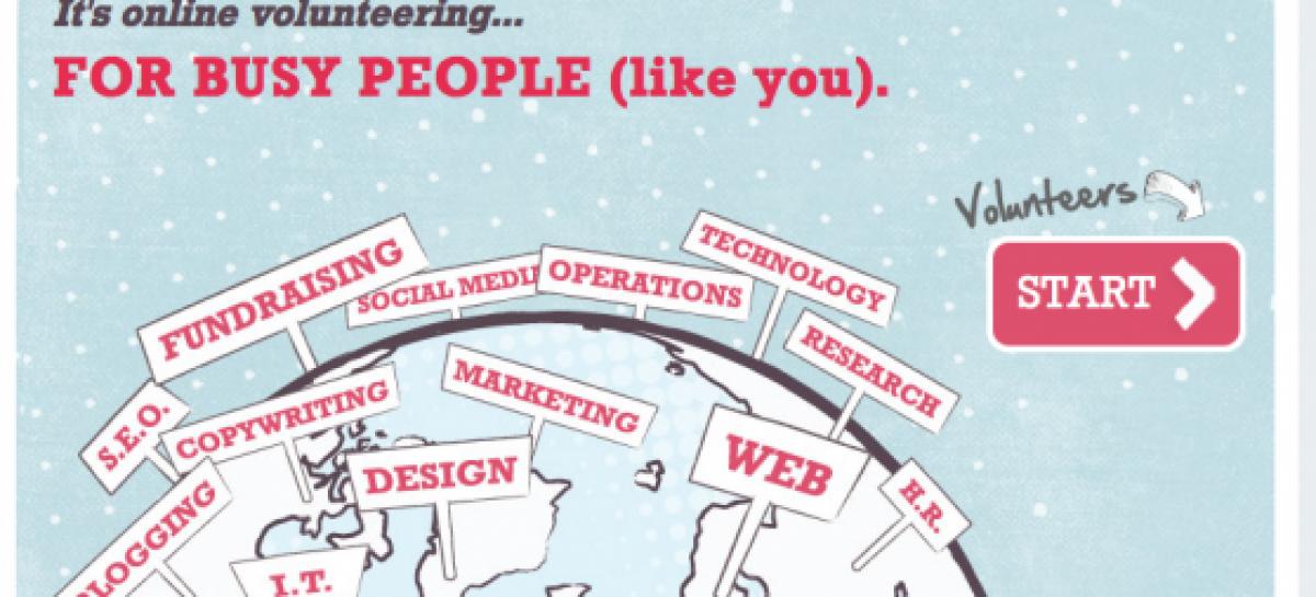 Voluntariado online para hacer desde tu ordenador