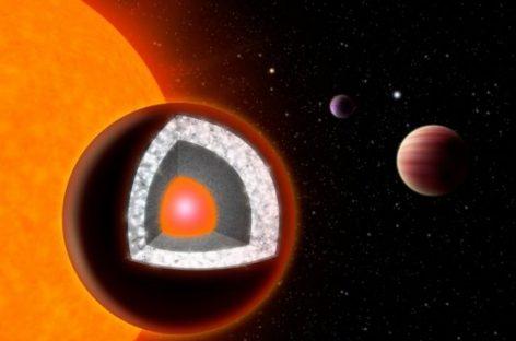Descubren un nuevo planeta compuesto de diamante y grafito
