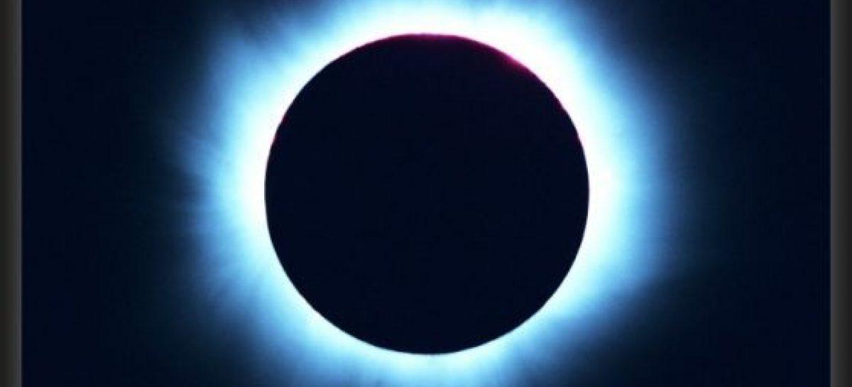 El bello espectáculo del eclipse solar