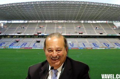 Slim, el hombre más rico del mundo, apoya al Real Oviedo