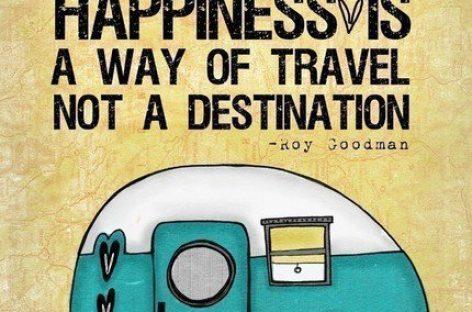 La felicidad es un viaje