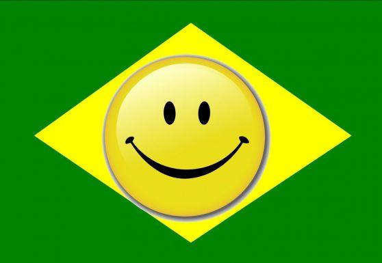Brasil es feliz y optimista
