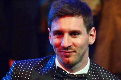 Messi, 4º Balón de oro