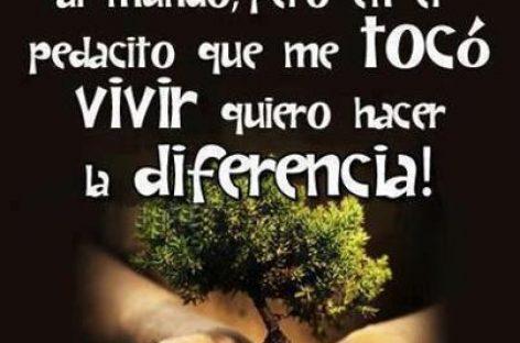 No pretendo cambiar el mundo