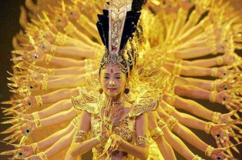 Danza ancestral bailada por sordomudas chinas