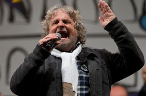 Beppe Grillo, el tsunami italiano