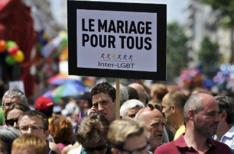 Matrimonio homosexual en Francia: se aprueba artículo clave