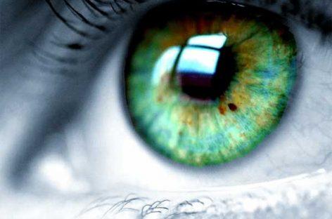 Rastreo de ojos para aparatos electrónicos