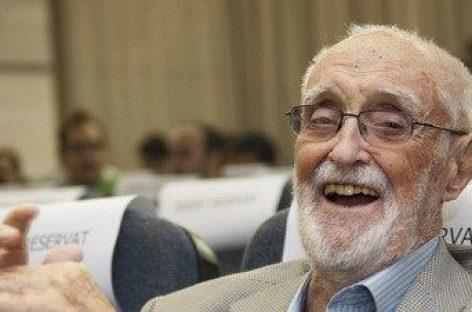 José Luis Sampedro, el intelectual del 15M