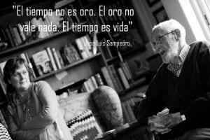 Jose Luis Sampedro-el tiempo es oro-mensajes positivos-el tiempo es vida