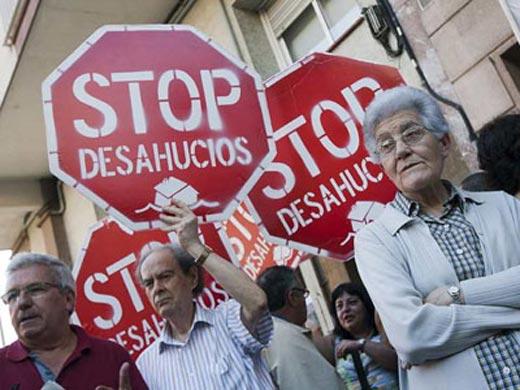 El Banco Central Europeo apoya a los desahuciados