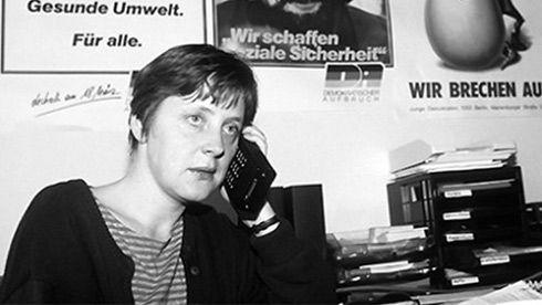 La otra cara de Angela Merkel