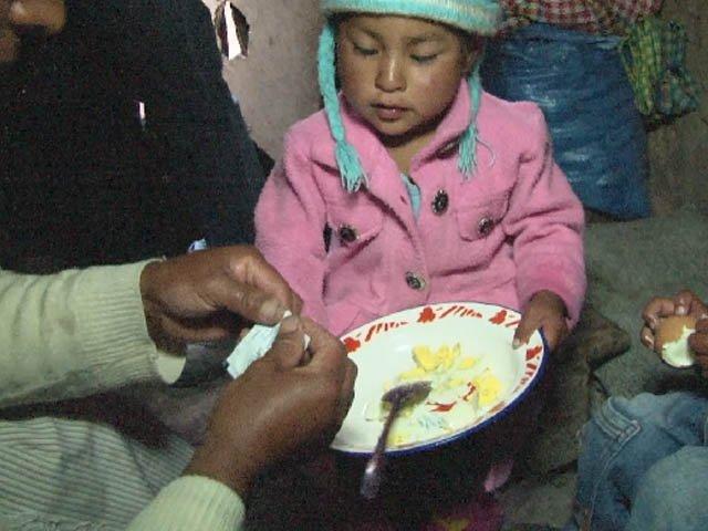 hambre,   avances contra el hambre-pobreza