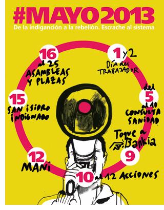 El 15 M se prepara para Mayo 2013