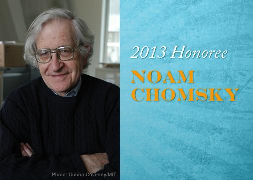 Chomsky y Assange galardonados en los Human Rights Awards