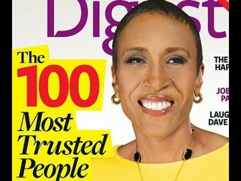 the 100 most trusted-personajes de confianza