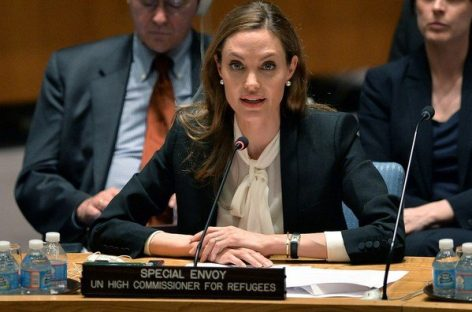 Angelina Jolie pide en la ONU luchar contra la violencia sexual