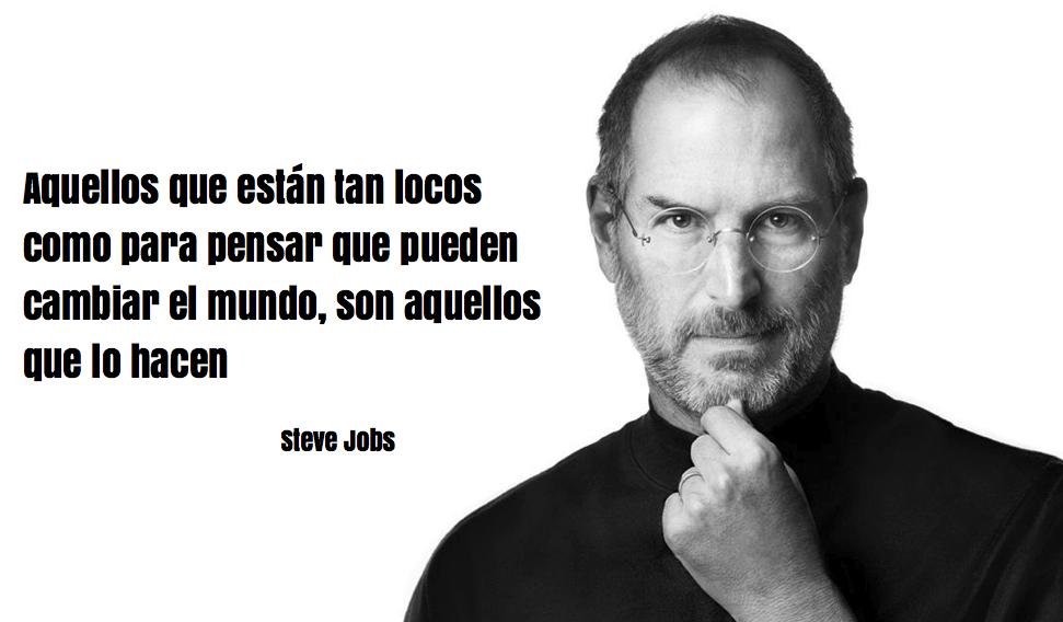 Steve Jobs-locos-cambiar el mundo-mensajes positivos